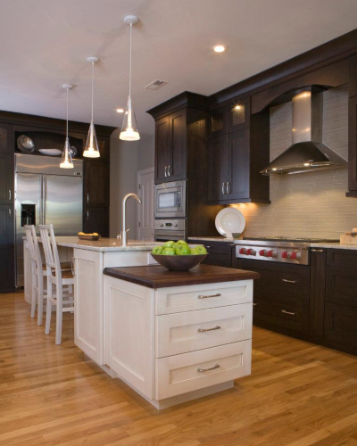 reach out to a kitchen designer for assistance